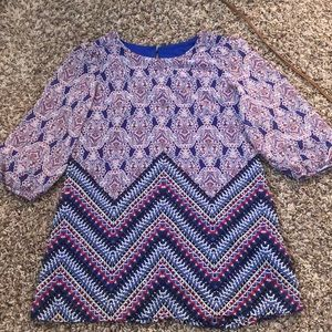 Girls top with 3/4 length sleeves from by&by